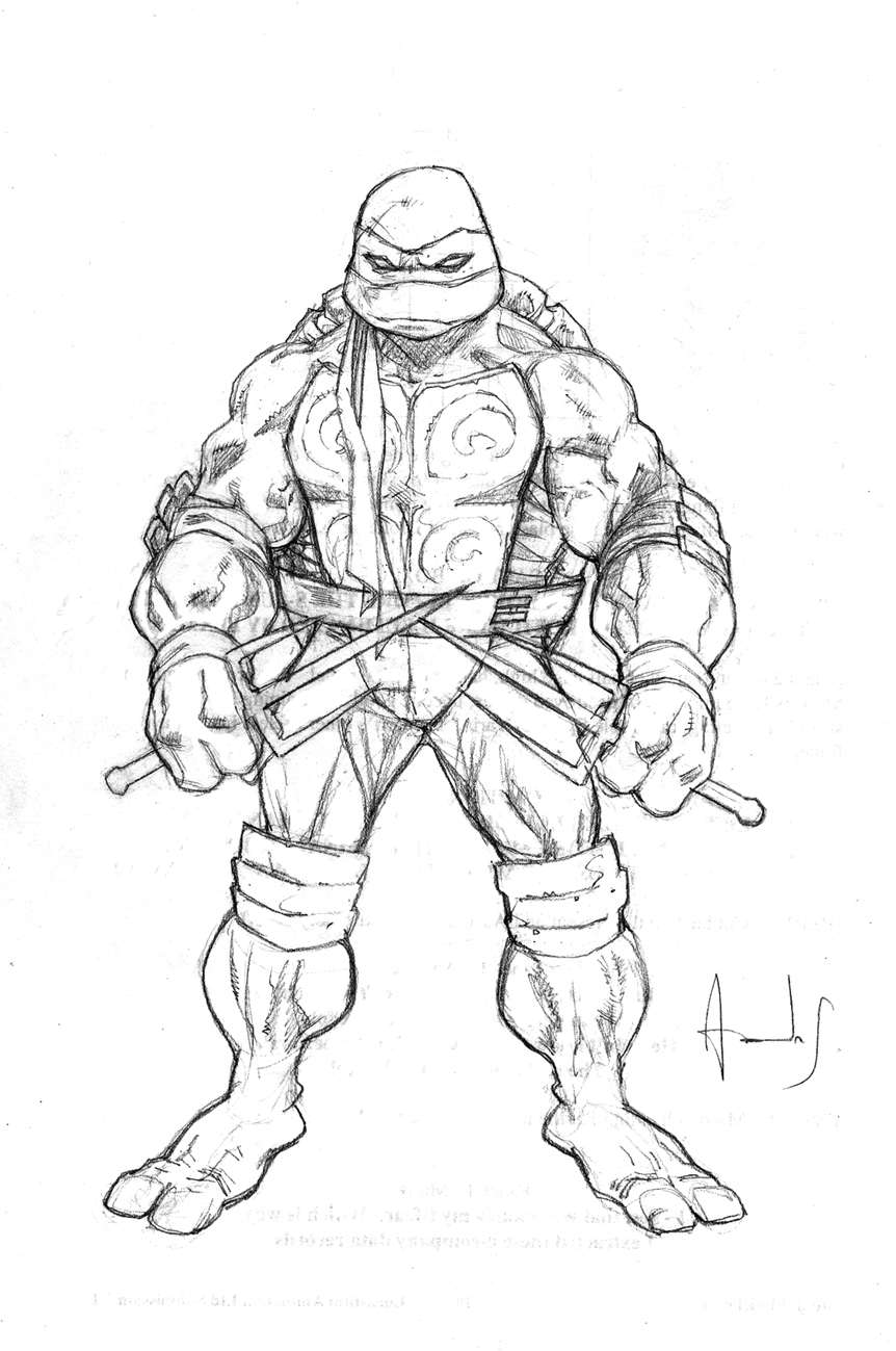 tmnt coloring pages ralph 2012 - photo#27