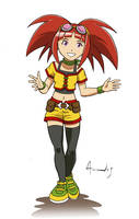 Dinosaur King pibe 3 Colors by UltimateRubberFool
