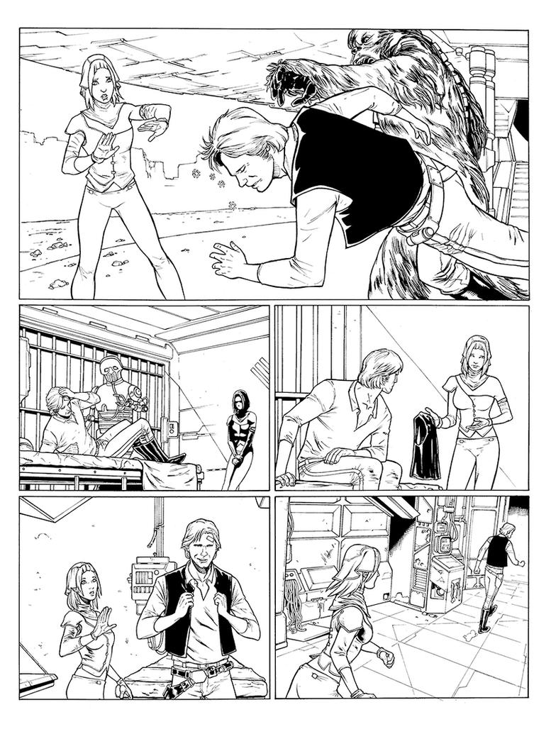 Corelian Kid inks page03 by UltimateRubberFool