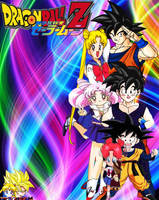 Dragon Ball Z x Sailor Moon Heroes and Heroines by dbzandsm
