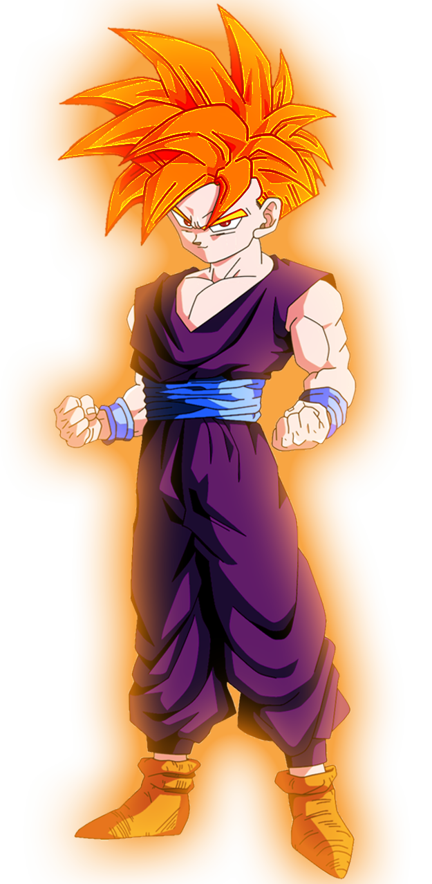 Dragon ball z super saiyan god gohan