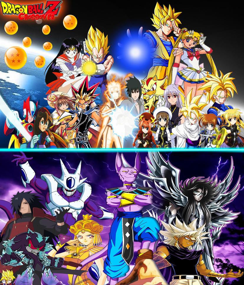 Dragon ball z crossover 3 by dbzandsm on deviantart - Dragon ball z 4 ...