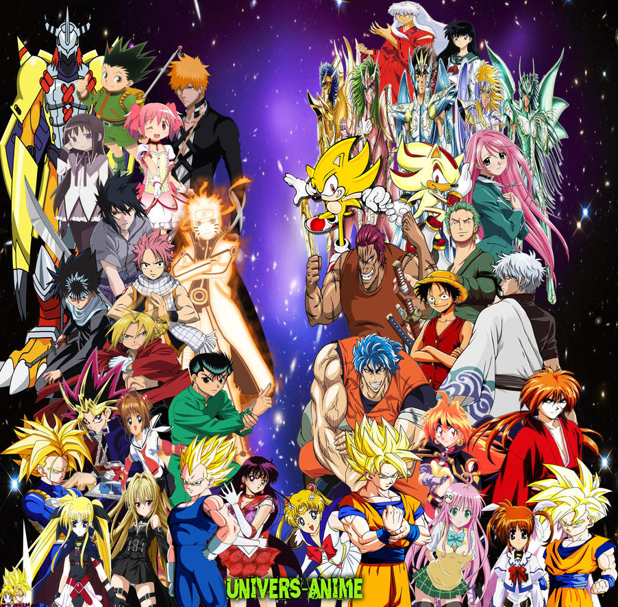 Univers-Anime By Dbzandsm On DeviantArt