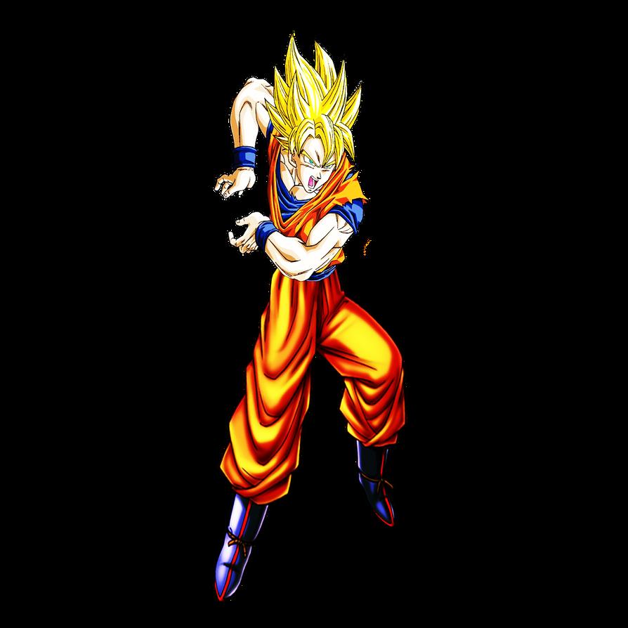 Goku SSJ Kamehameha Render by dbzandsm on DeviantArt