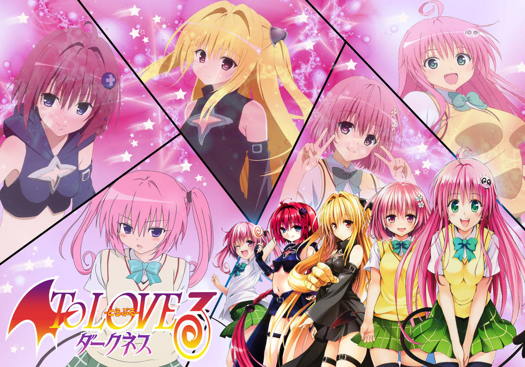 To Love Ru Darkness The Sisters Wallpaper By Dbzandsm On