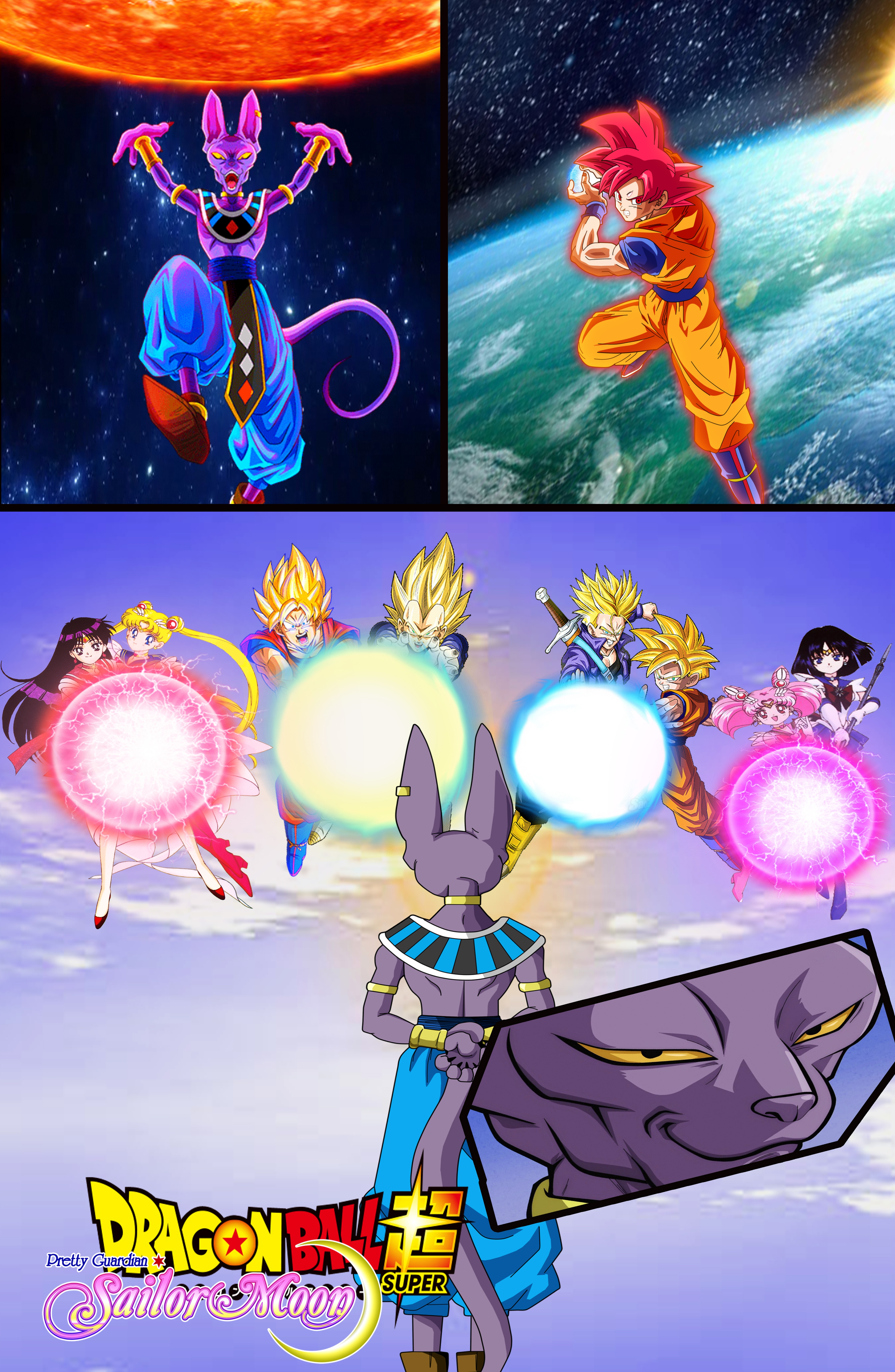 Dragon ball z and sailor moon