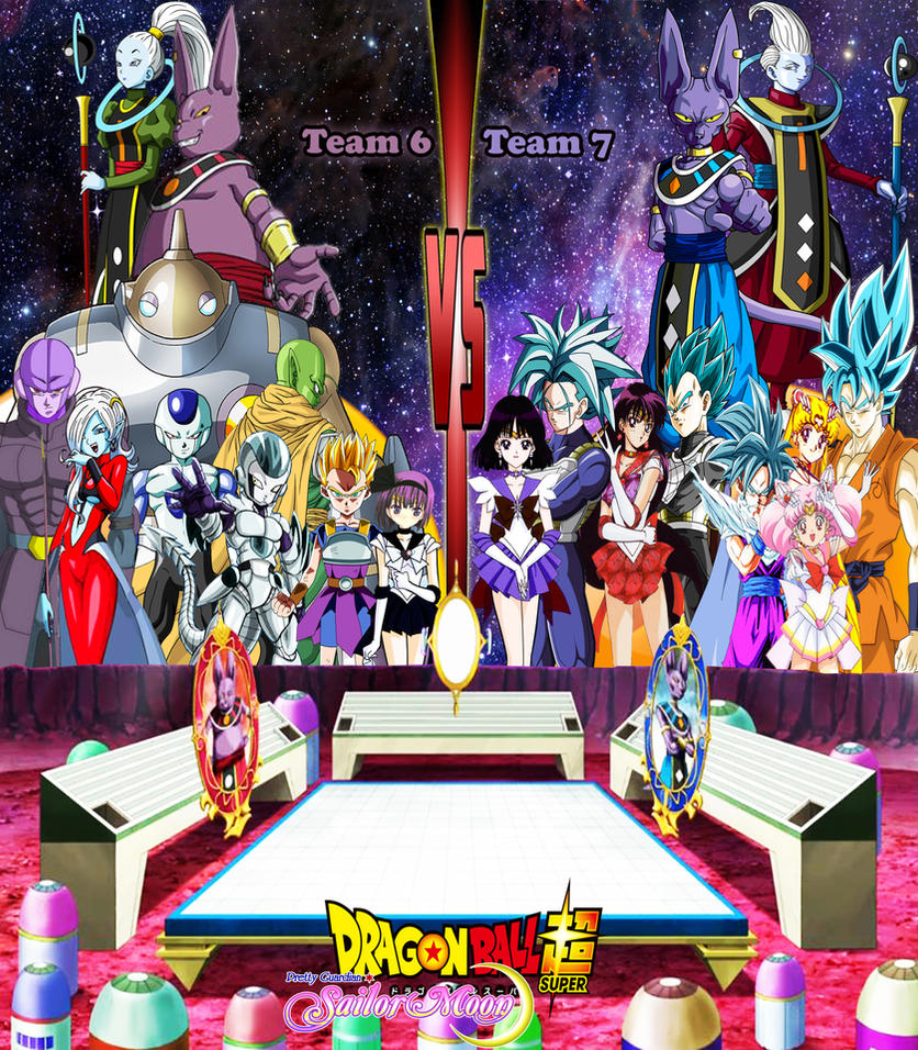 Dragon Ball Super And Sailor Moon