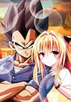 Vegeta and Konjiki no Yami by dbzandsm