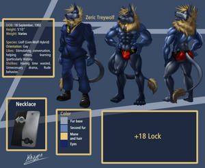 Reference Zeric Treywolf SFW Full size