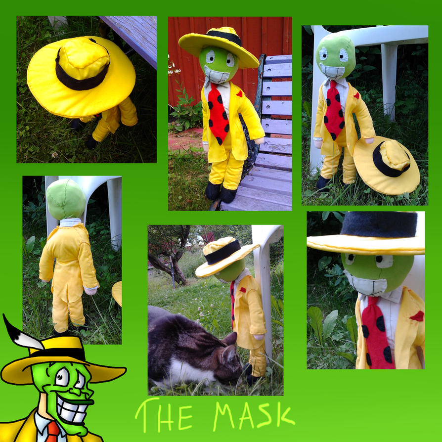 The Mask Plushie by Lolinondoda