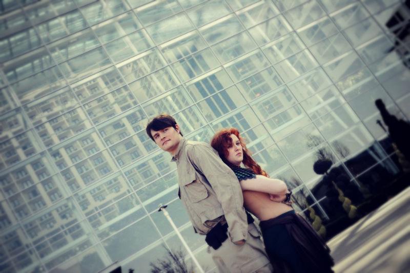 Jacen Solo and Tenel Ka Djo YJK costumes by zhobot on ...