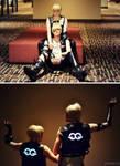 The Glitterati - Jaryn / Kerith costumes - [ DC2 ]
