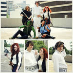 Genderswap Han Solo and Princess Leia - Star Wars