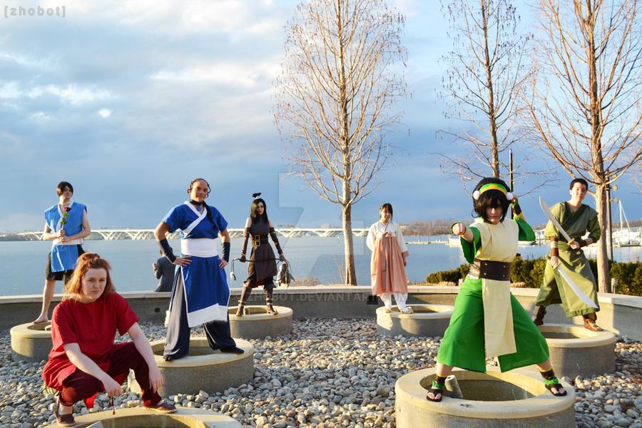 Sokka and Suki costumes - Avatar by zhobot