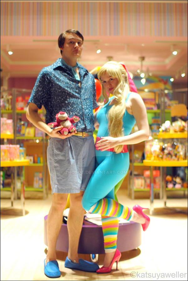 Ken and Barbie - Toy Story 3 by zhobot ...  sc 1 st  DeviantArt & Ken and Barbie - Toy Story 3 by zhobot on DeviantArt
