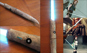 Lightsaber - Tenel Ka Djo - Star Wars