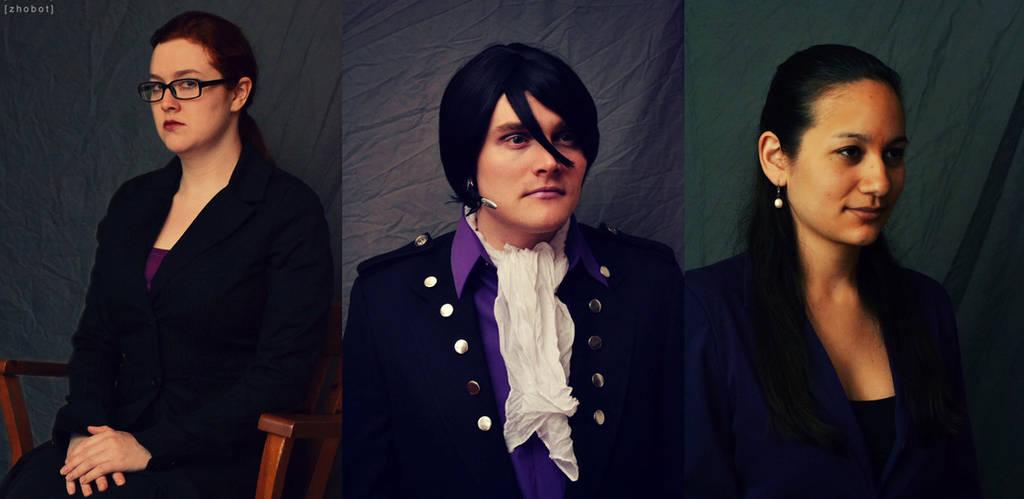 Saints Row IV - Kinzie, Matt and Asha by zhobot