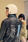 Persona 2 - Eriko Kirishima and Kei Nanjo by zhobot