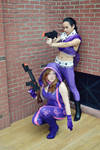 Kinzie and Asha - Saints Row IV - Super Homies