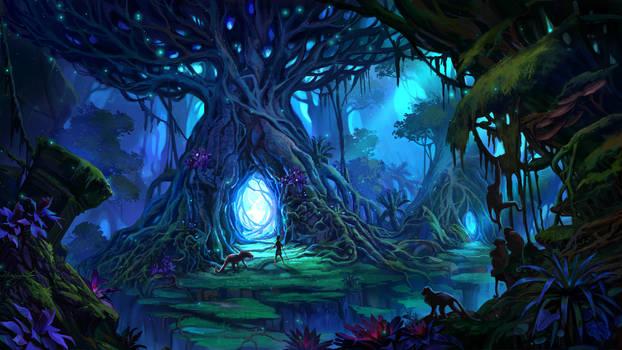Illuminating forest