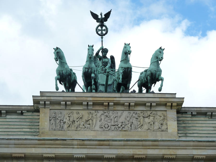 Brandenburg Gate Quadriga Brandenburg Gate Quadriga by Aliensoldier