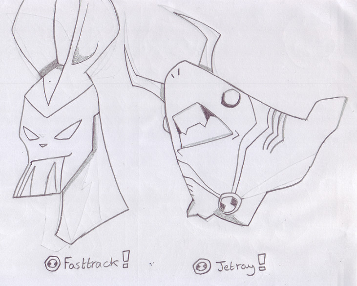 ben 10 fasttrack coloring pages - photo#5