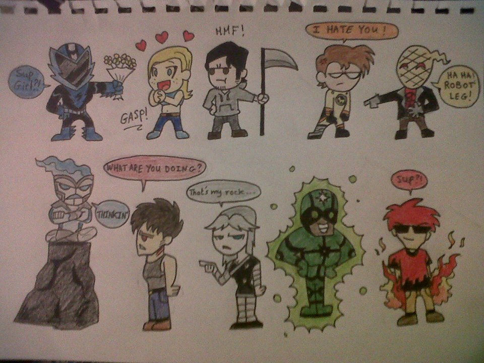 OMEGA DIMENSION HEROES! by Scottmister