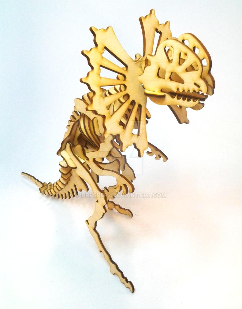Dilophosaurus 1 by DrPeper2