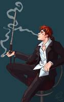 A cigar smoke by 7Eule7
