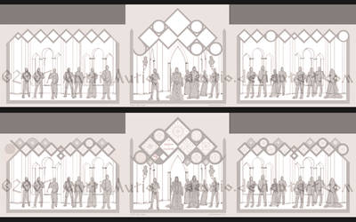 WIP: LORDS of NOLDOR triptych
