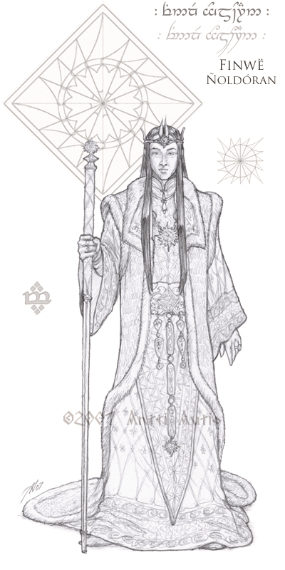 WIP:Lords of Noldor: Finwe by aautio