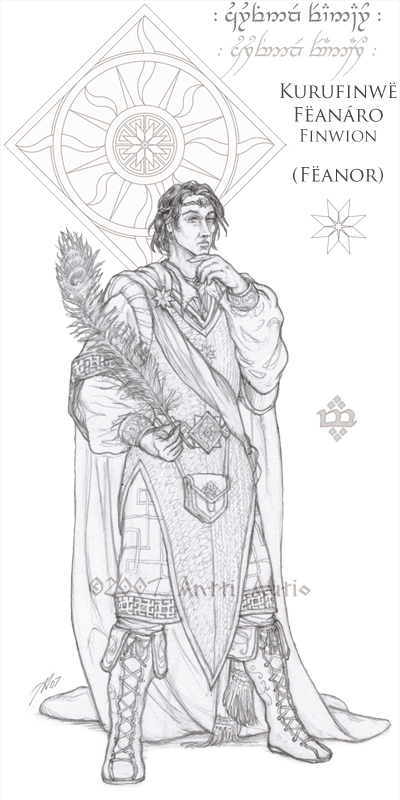 WIP:Lords of Noldor: Feanor by aautio