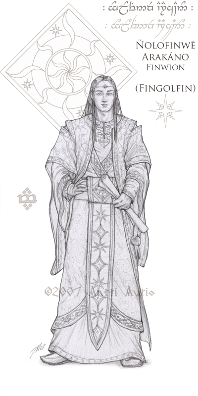 WIP:Lords of Noldor: Fingolfin by aautio