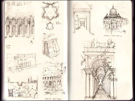 Rome sketches by aautio