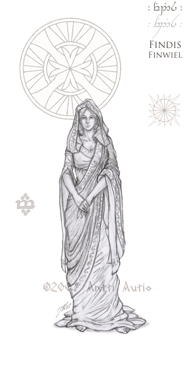 WIP:Lords of Noldor: Findis by aautio