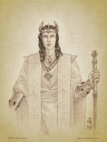 Turgon Aran Gondolin by aautio