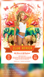 Club Africa Flyer Template by jamiefang