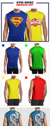Gym Shirt Mock-Up Pack by jamiefang