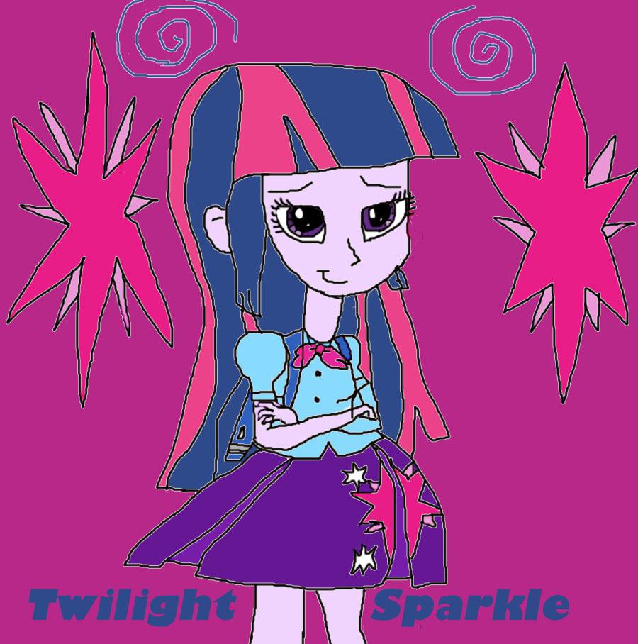 Twilight Sparkle Human Version By Princess-Vaporeon On