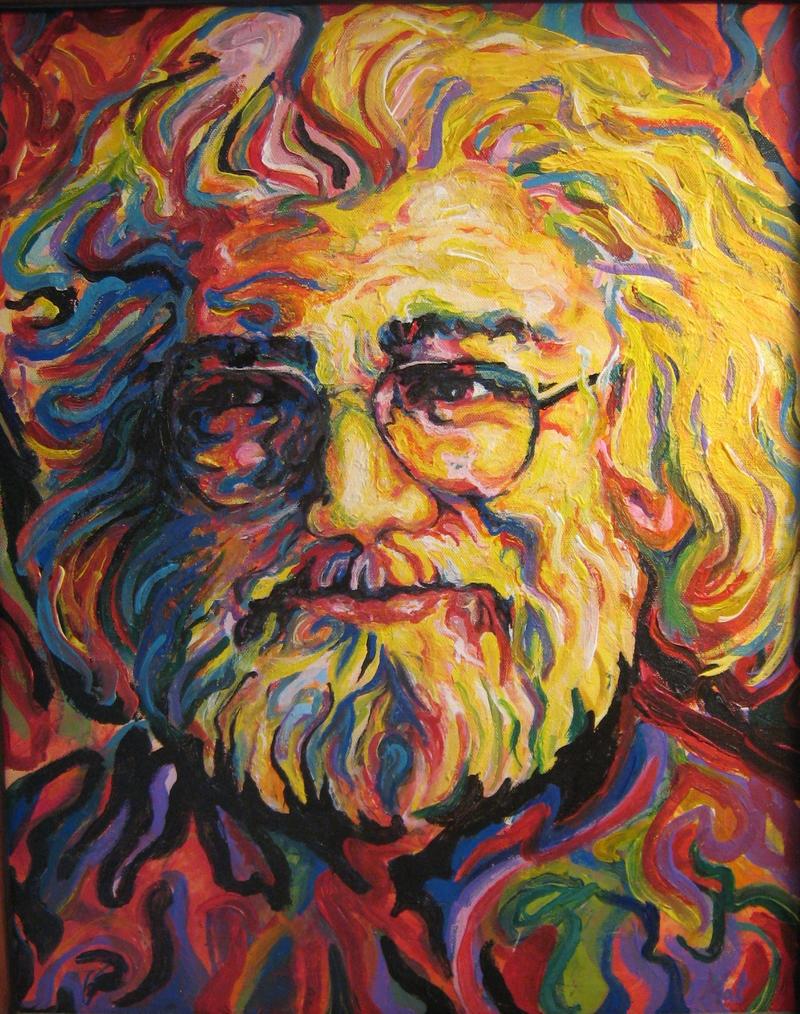 Jerry Garcia by MadMaxMama