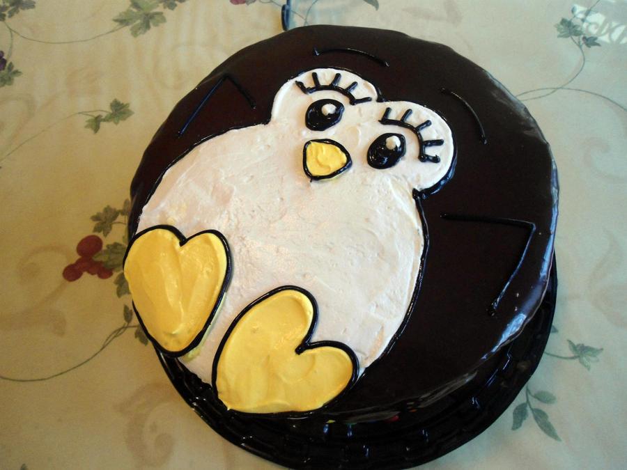 Cake Artist Nj : Cute Penguin Cake by PnJLover on DeviantArt
