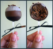 Cappuccino Cake Pops by PnJLover