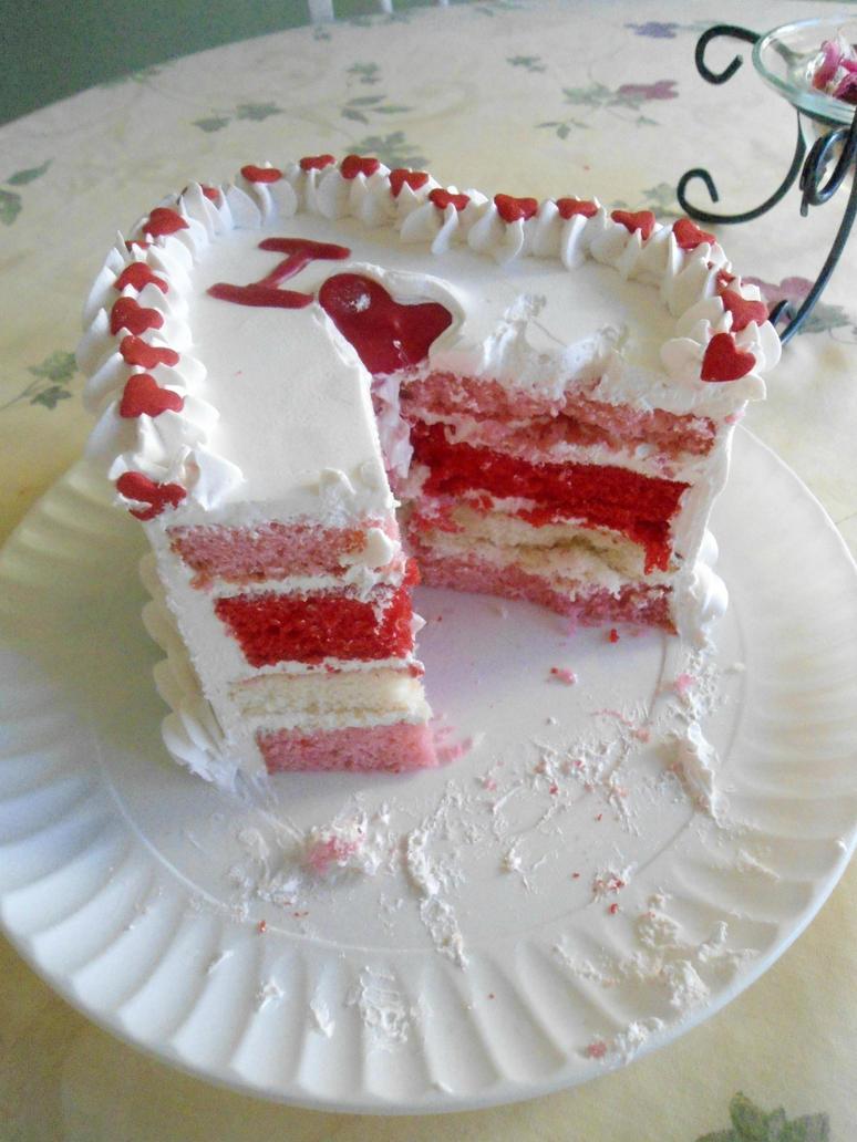 Cake Artist Nj : Heart Cake INSIDE by PnJLover on DeviantArt