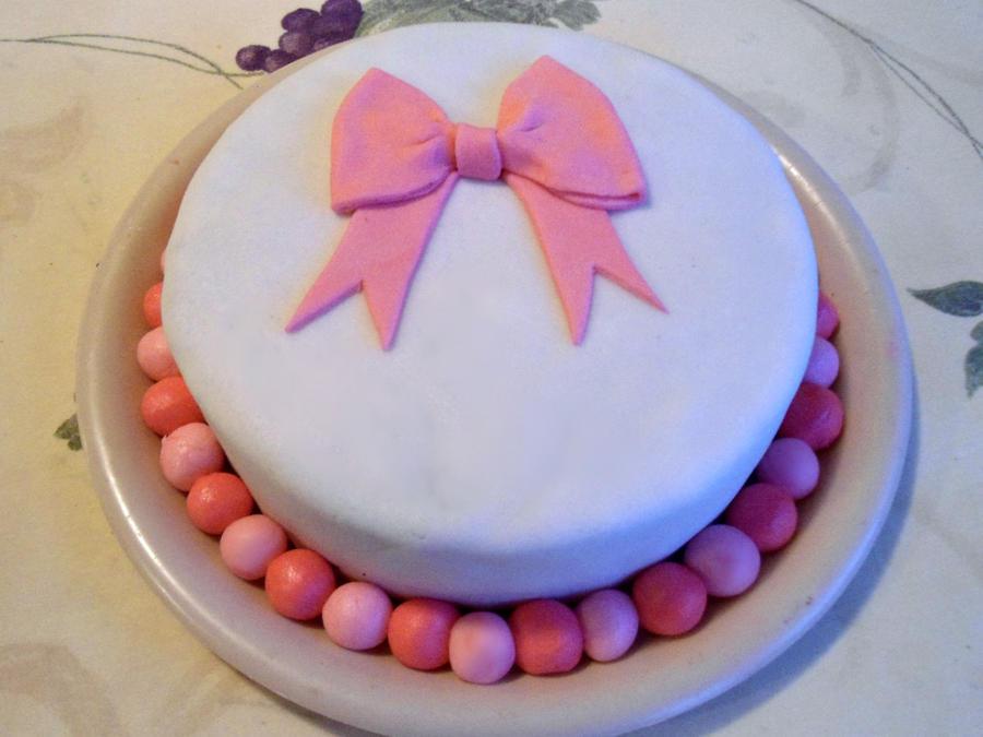 First Fondant Cake by PnJLover on DeviantArt