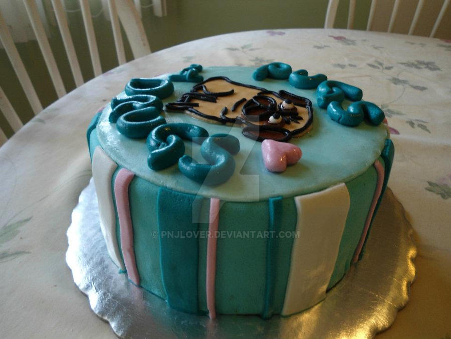 Cake Artist Nj : Side View PND Cake by PnJLover on DeviantArt