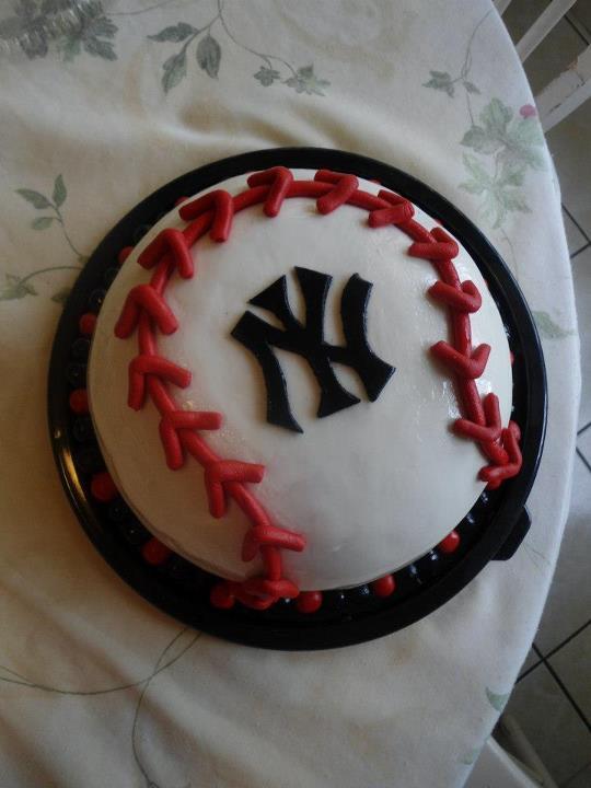 Art Cake Nj : Baseball Cake by PnJLover on deviantART