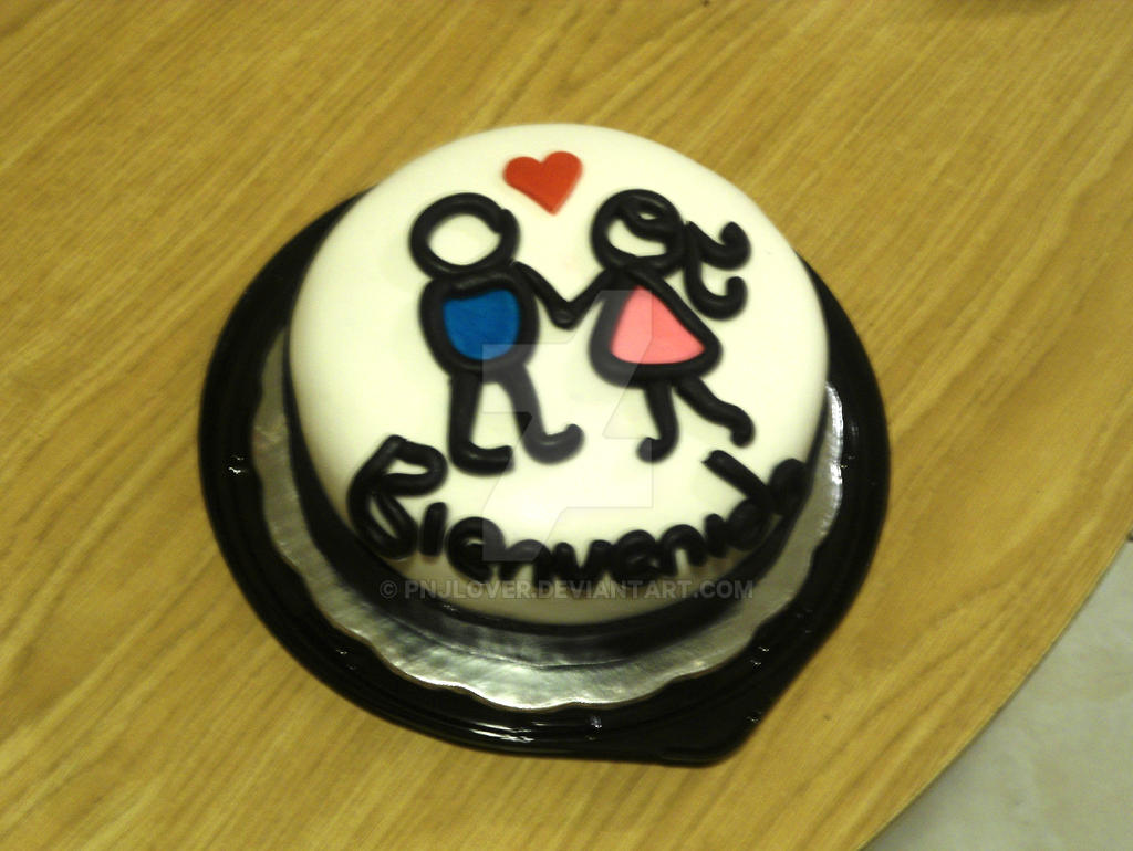 Stickman Love Cake by PnJLover on DeviantArt
