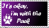-Stamp- I'm with the Pack by ZeviLoupGarou
