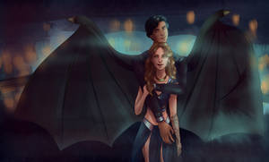 A Court of Mist and Fury fanart #2 by Silviarts