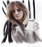 Emma Watson Burberry WiP by De1in